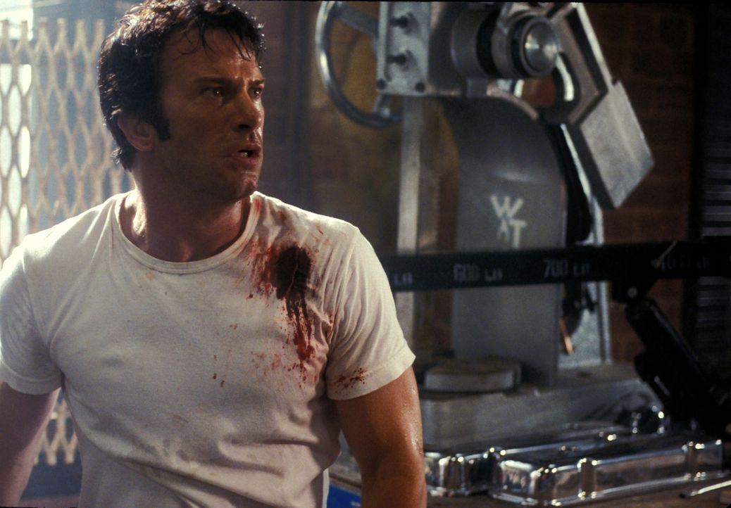 Geht auf Vergeltungsjagd: Frank Castle (Thomas Jane) ... - Bildquelle: Sony Pictures Television International. All Rights Reserved.