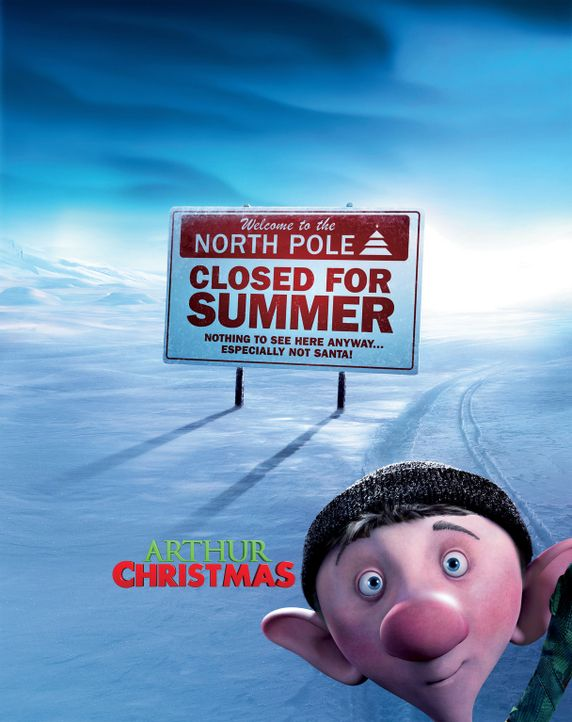 ARTHUR CHRISTMAS - Plakatmotiv - Bildquelle: 2011 Sony Pictures Animation Inc. All Rights Reserved.