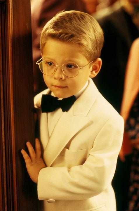 Über seinen neuen Bruder Stuart ist George Little (Jonathan Lipnicki) anfangs nicht sehr erfreut ... - Bildquelle: Columbia TriStar Film