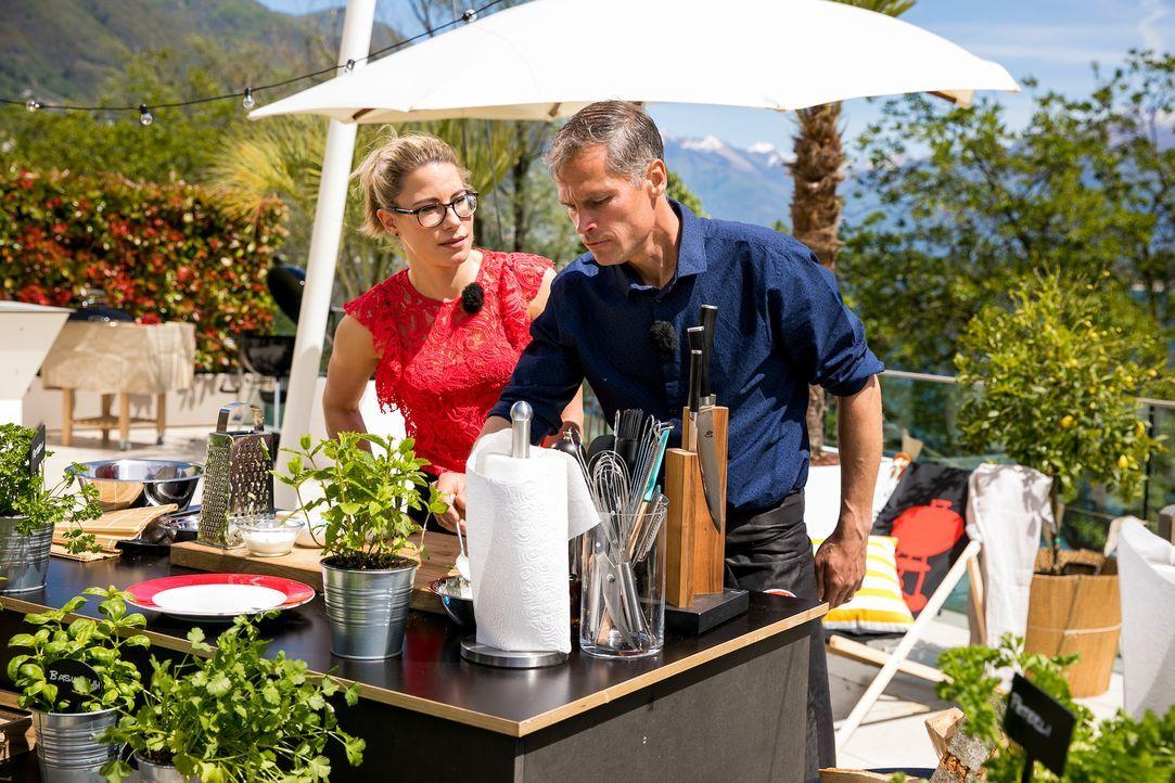 Die Promi Griller - Bildquelle: SAT.1 Schweiz
