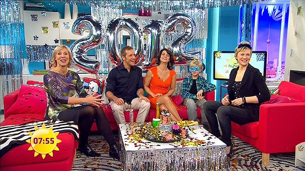 fruehstuecksfernsehen-silvester-2011-06 - Bildquelle: Sat.1