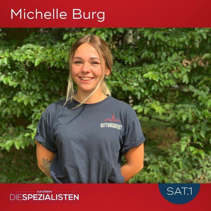 Michelle Burg - Bildquelle: SAT.1