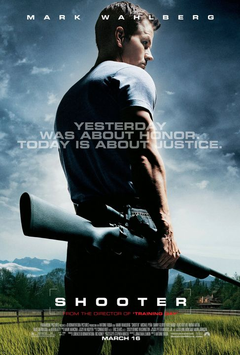 Shooter - Plakatmotiv - Bildquelle: 2007 by PARAMOUNT PICTURES. All Rights Reserved.