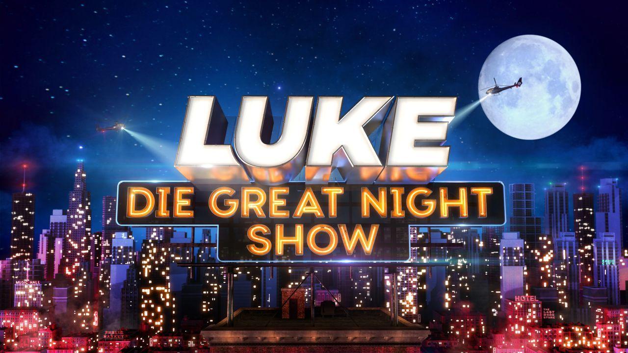 LUKE! Die Greatnightshow - Logo - Bildquelle: SAT.1