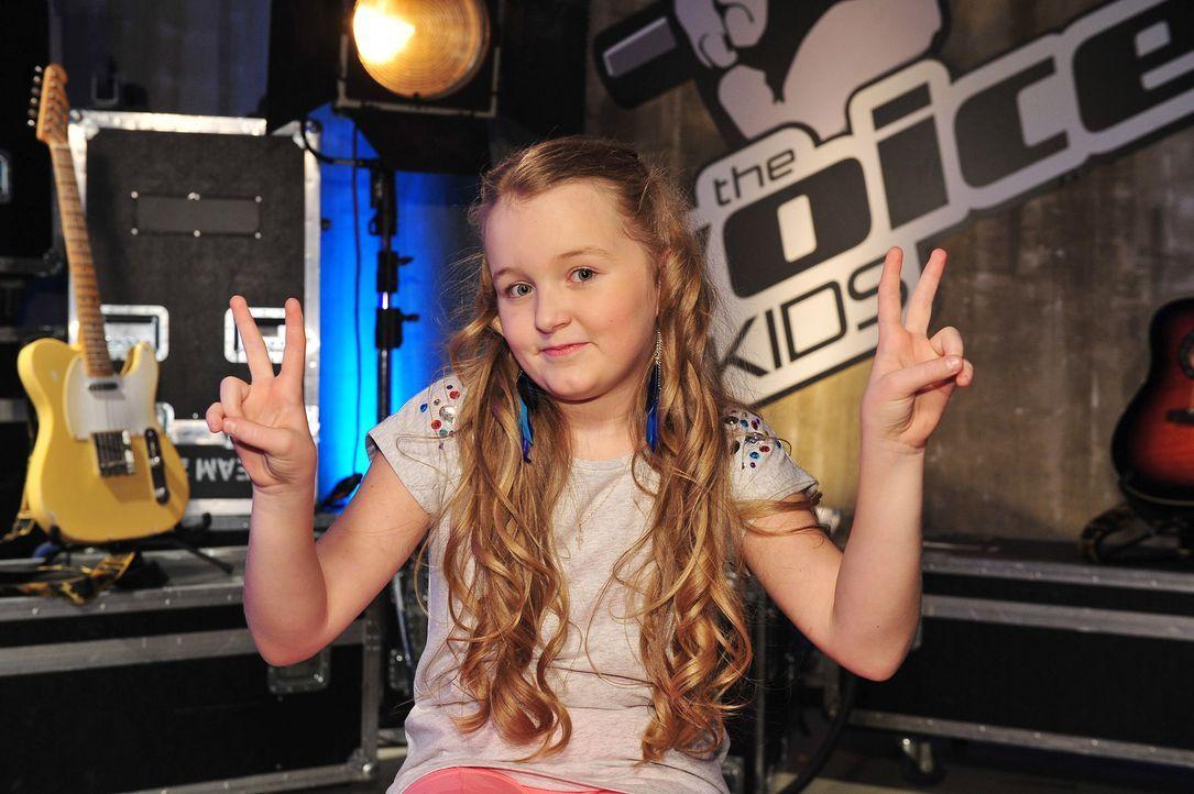 The-Voice-Kids-Stf02-Epi07-Vanessa-02-SAT1-Andre-Kowalski - Bildquelle: SAT.1/Andre Kowalski