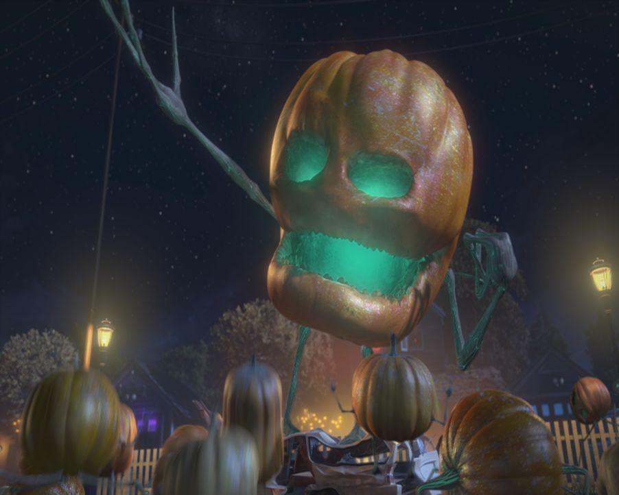 """Als böse Außerirdische, die sich als Kürbisse getarnt haben, an Halloween erwachen, erwartet die Bevölkerung der sichere Tod. Wären da nicht die """"Mo... - Bildquelle: TM &   2009 DreamWorks Animation L.L.C. All Rights Reserved."""