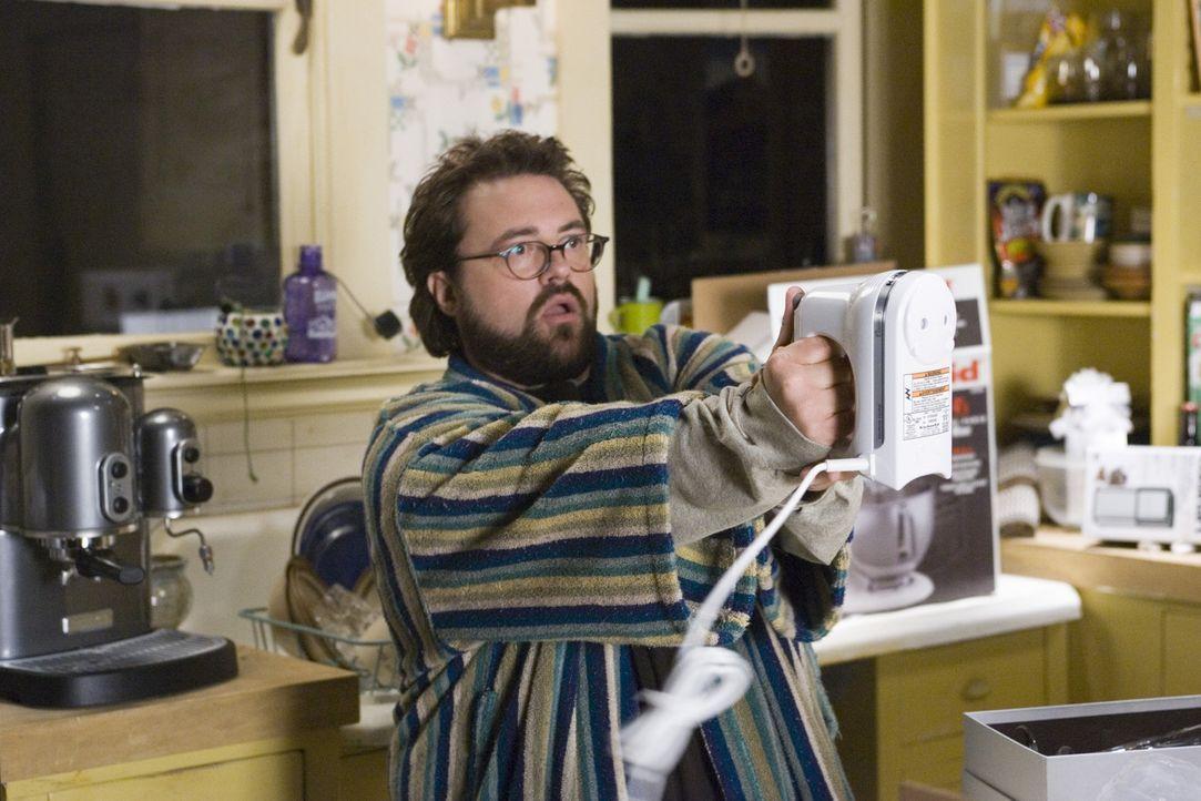 Als Gray nach dem Tod ihres Verlobten aus Geldnot bei Freunden (Kevin Smith) einziehen muss, sind immerhin die vielen praktischen Haushaltsgeräte, d... - Bildquelle: Sony Pictures Television International
