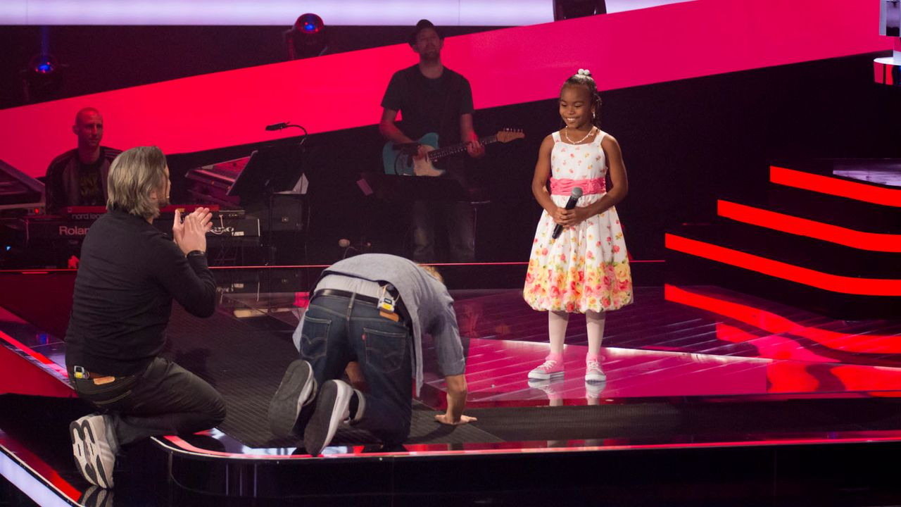 The-Voice-Kids-s01e01-Chelsea-022 - Bildquelle: SAT.1/Richard Hübner
