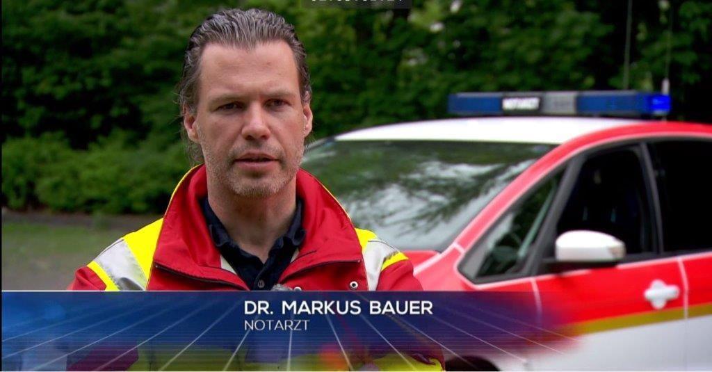 Notarzt Dr. Markus Bauer