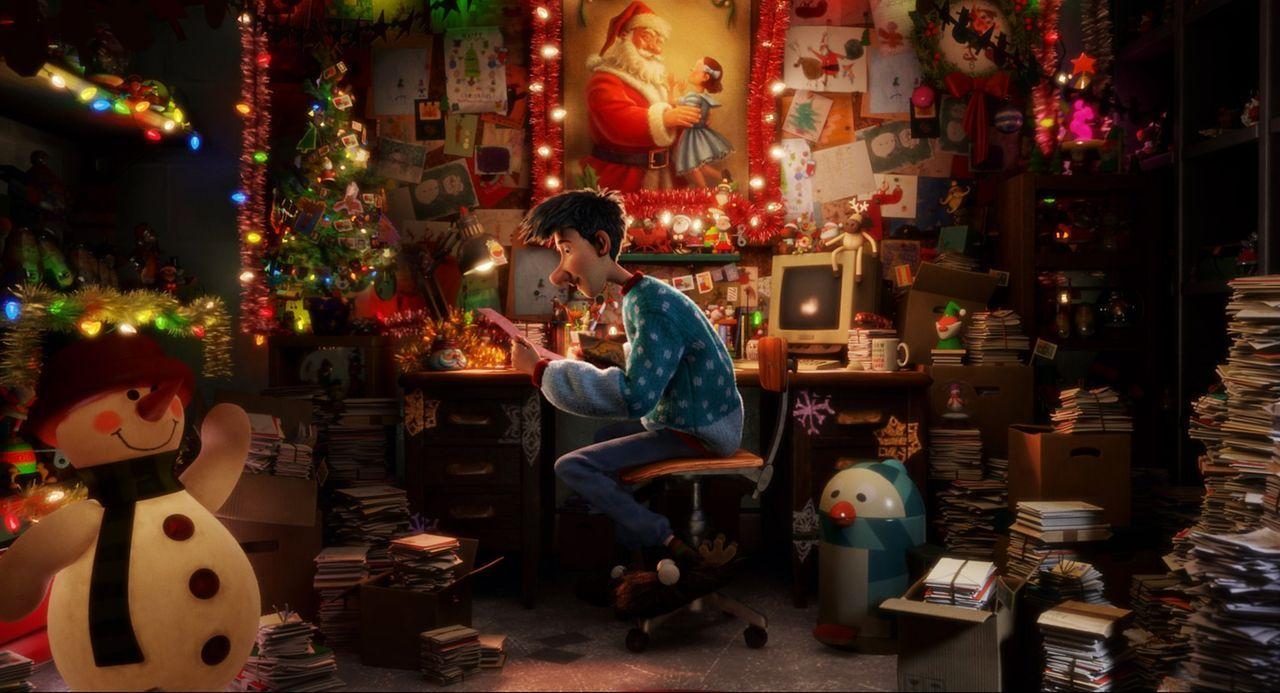 Arthur, der Sohn des Weihnachtsmannes, versucht alles, um Weihnachten zu retten, denn sein karrieregeiler älterer Bruder beginnt, das Familienuntern... - Bildquelle: 2011 Sony Pictures Animation Inc. All Rights Reserved.