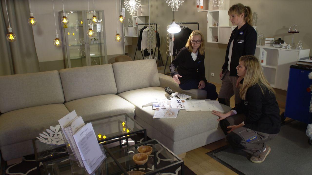 Jeder Verkaufsraum wird von den IKEA Mitarbeitern genauestens geplant und strukturiert, denn auch der Möbelgigant weiß, dass eine gute Präsentation... - Bildquelle: SAT.1
