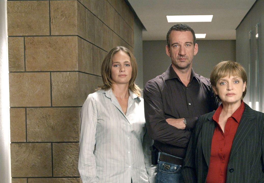 Matthias Berg (Heio von Stetten, M.), Nina Ritter (Sonsee Neu, l.) und Franziska Friedmann (Katharina Thalbach, r.) - Bildquelle: Sat.1
