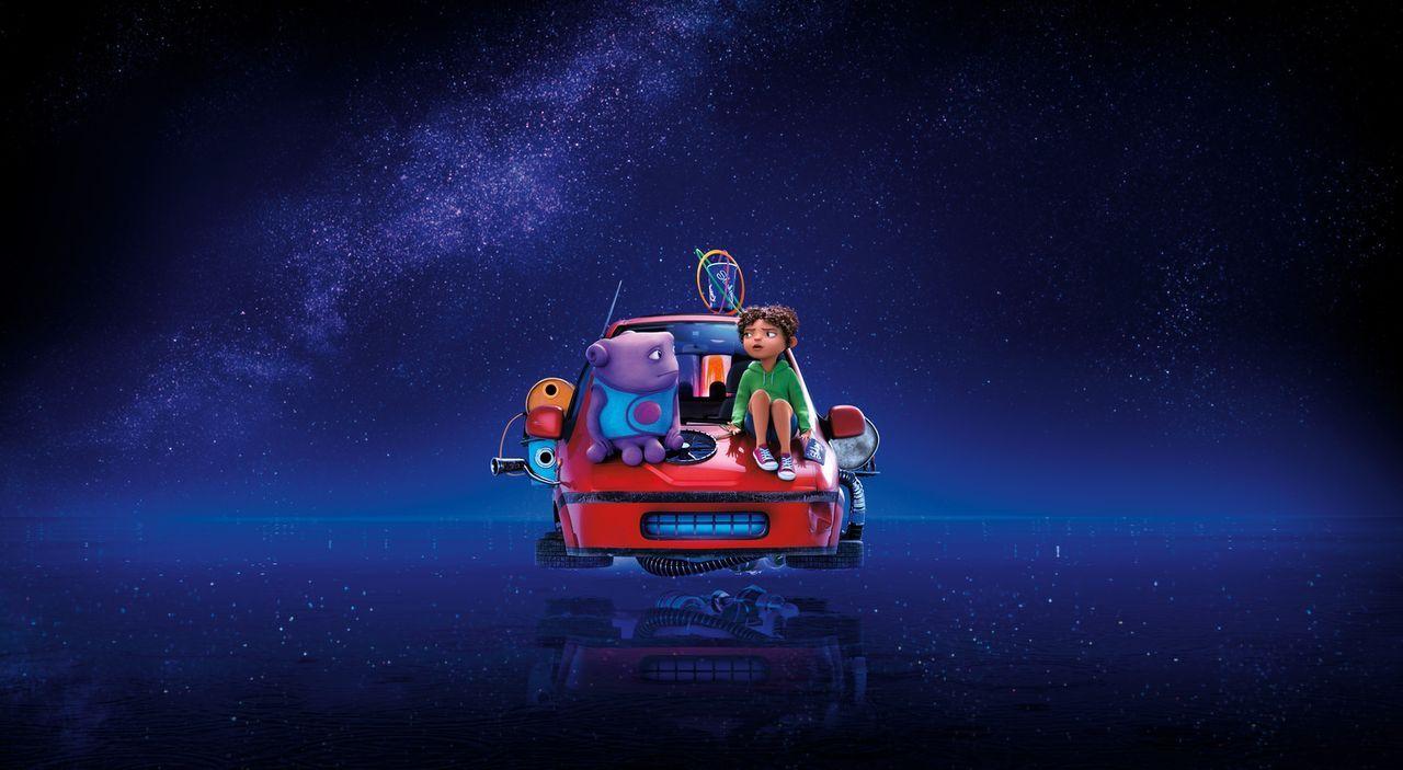 Begeben sie sich auf eine fantastische Reise voll Spaß und Abenteuer, die ihr Leben und ihre Welt für immer verändern wird: Oh (l.) und Tip (r.) - Bildquelle: 2015 DreamWorks Animation, L.L.C.  All rights reserved.