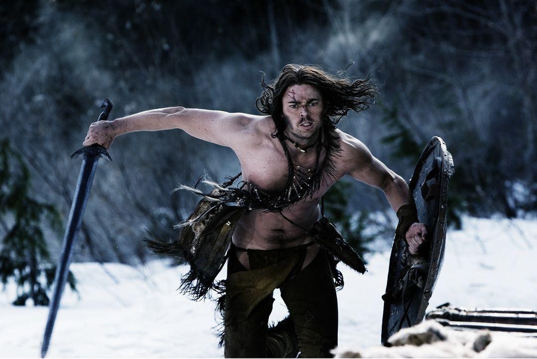 Als Wikinger ihr Dorf angreifen, steht für Geist (Karl Urban) eines fest. Er wird es verteidigen, auch wenn es ihn sein Leben kostet ... - Bildquelle: 2007 Twentieth Century Fox Film Corporation.  All rights reserved.
