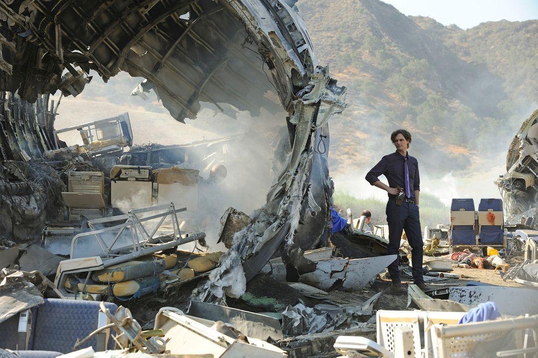 Muss in einem neuen Fall, der mit einem Flugzeugabsturz zu tun hat, ermitteln: Reid (Matthew Gray Gubler) ... - Bildquelle: Colleen Hayes ABC Studios