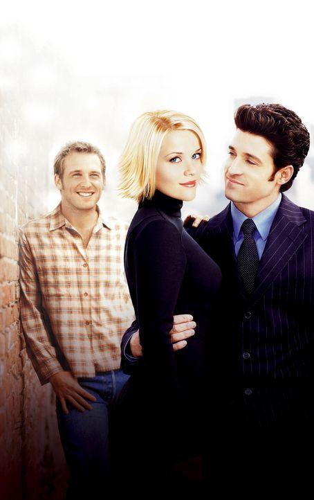 Endlich hat Melanie (Reese Witherspoon, M.) Andrew (Patrick Dempsey, r.), den Mann ihrer Träume gefunden, mit dem sie alt werden will, aber es steh... - Bildquelle: Touchstone Pictures