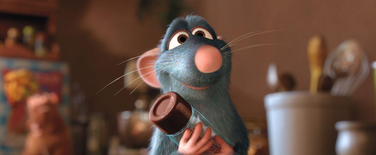 Für Zutaten zum köstlichen Essen begibt er sich in Lebensgefahr: Feinschmecker Remy - Bildquelle: Disney/Pixar.  All rights reserved