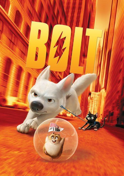 BOLT-EIN HUND FÜR ALLE FÄLLE - Plakatmotiv - Bildquelle: Disney Enterprises, Inc.  All rights reserved
