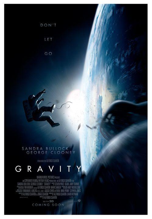 GRAVITY - Plakat - Bildquelle: Warner Brothers