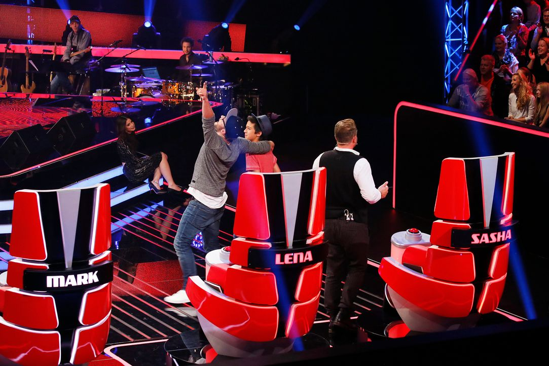 The-Voice-Kids-s04e01-Lukas-SAT1-Richard-Huebner - Bildquelle: SAT.1/ Richard Huebner