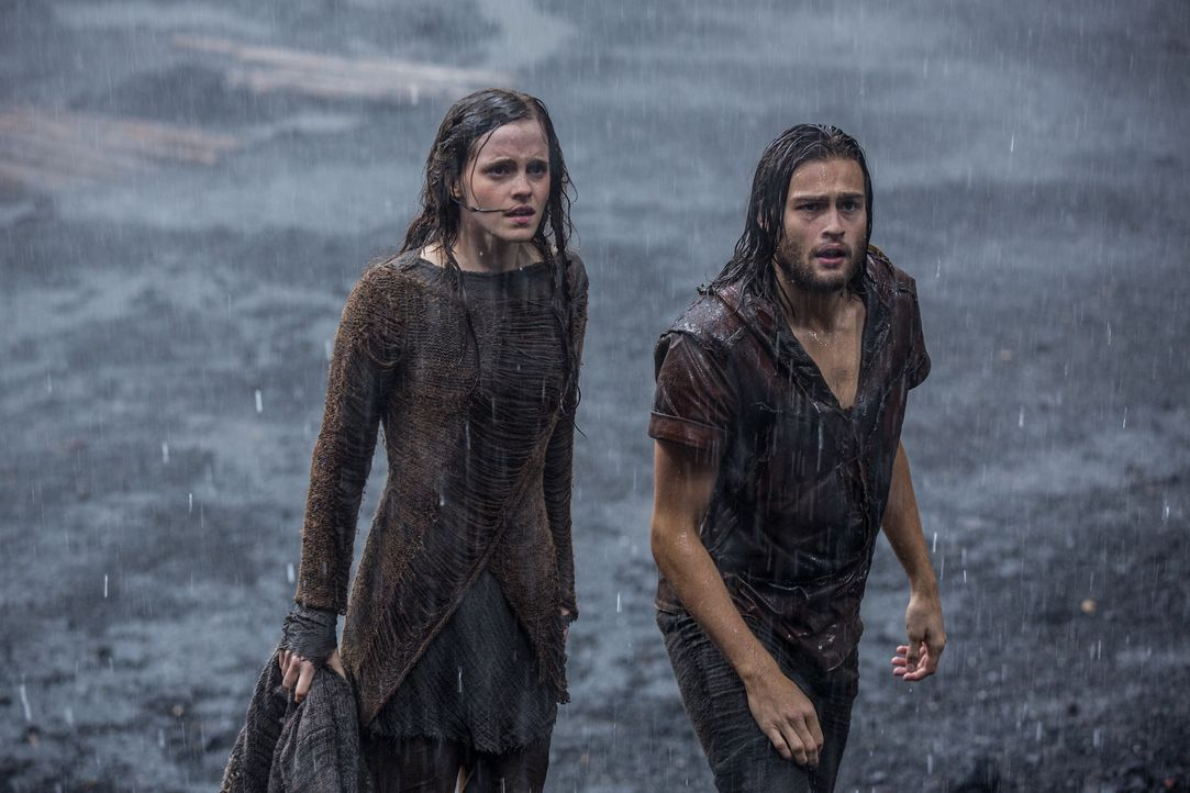 Noah hat für die Tiere der Erde und seine Familie eine Arche gebaut. Doch auch andere Menschen wollen die kommende Sintflut überleben und sind berei... - Bildquelle: 2014 Paramount Pictures Corporation. All rights reserved.