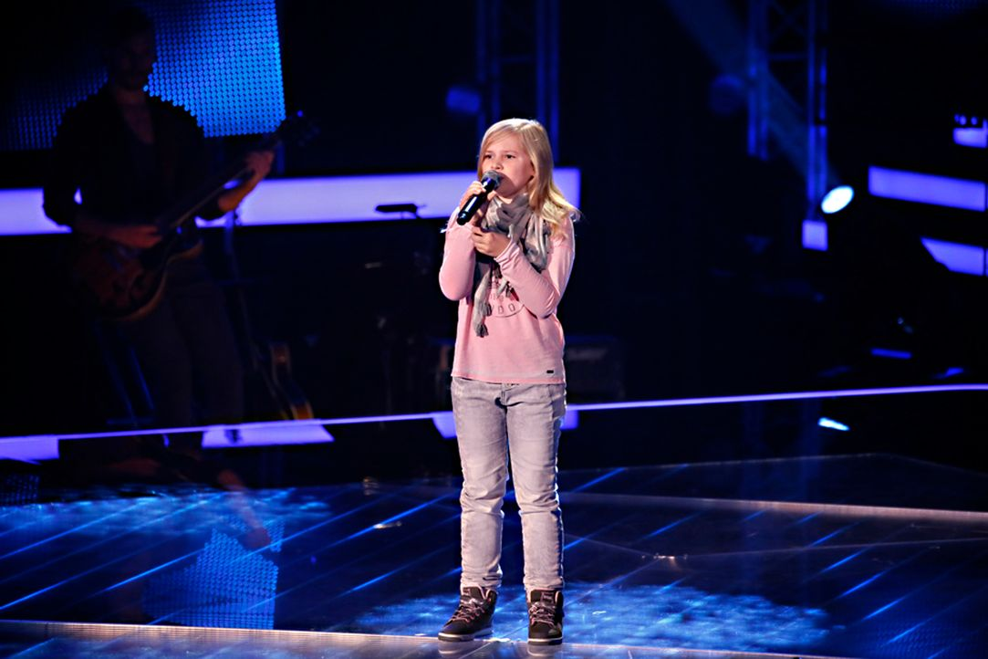 The-Voice-Kids-s04e02-Mia-SAT1-Richard-Huebner - Bildquelle: © SAT.1/ Richard Hübner