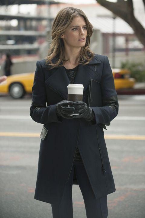Ein neuer Mordfall beschäftigt Beckett (Stana Katic) und ihre Kollegen ... - Bildquelle: ABC Studios