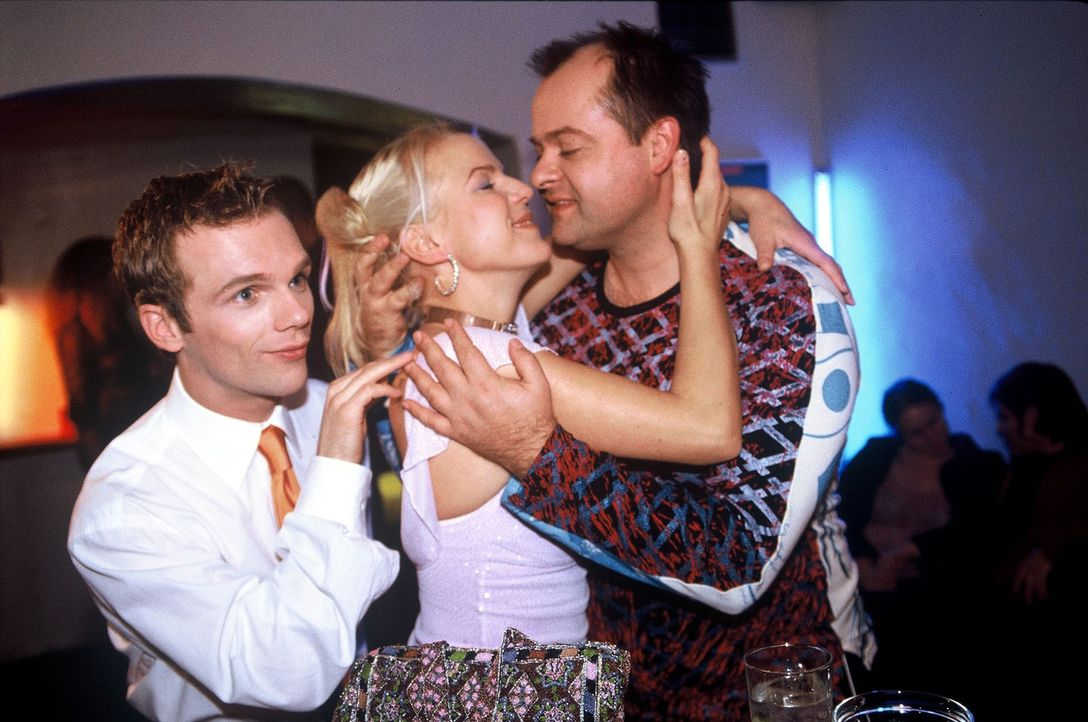 v.l.n.r.: Ralf Schmitz, Mirja Boes und Markus Majowski - Bildquelle: Sat.1