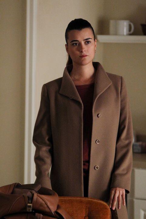 Während der Ermittlungen in einem neuen Fall bekommt Ziva (Cote de Pablo) überraschenden Besuch, der sie völlig aus der Bahn wirft ... - Bildquelle: CBS Television