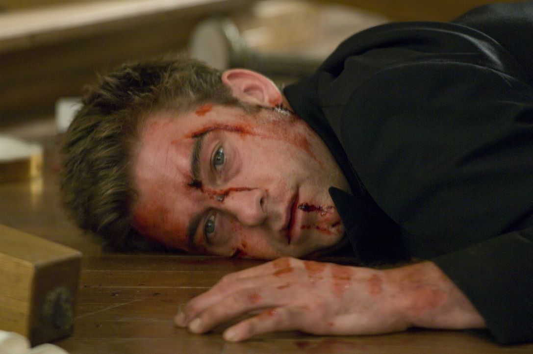 Der Mummenschanz setzt James (Scott Speedman) gewaltig zu. Hat er noch eine Chance, seinen motivlosen Feinden zu entkommen? - Bildquelle: Glenn Watson 2007 Focus Features LLC.  All Rights Reserved. / Glenn Watson