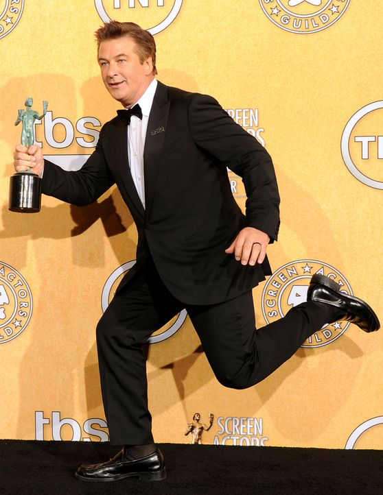 Schauspieler Alec Baldwin bei den Screen Actors Guild Awards (SAG)  - Bildquelle: getty-AFP