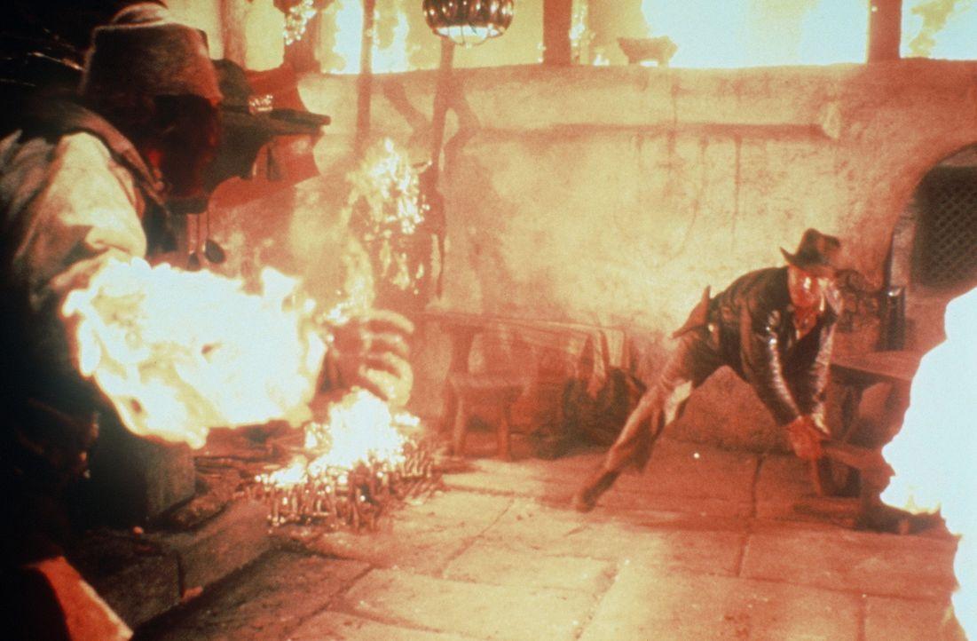 Unschlagbar: Indiana Jones (Harrison Ford)! - Bildquelle: Paramount Pictures