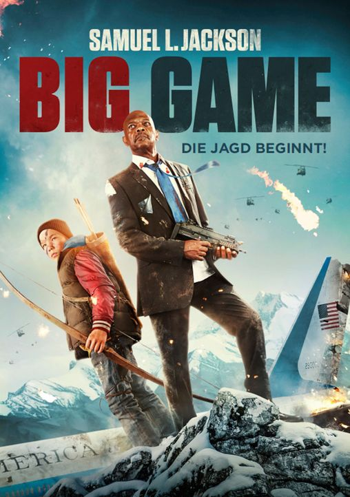 Big Game - Die Jagd beginnt - Artwork - Bildquelle: 2017 Elite Film AG