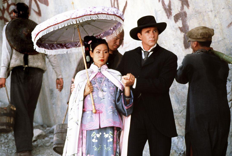 Weil Prinzessin Pei Pei (Lucy Alexis Liu, l.) keinen fetten Höfling heiraten will, flieht sie nach Amerika. Kaum dort angekommen, nimmt sie Sprachun... - Bildquelle: Beta Film GmbH