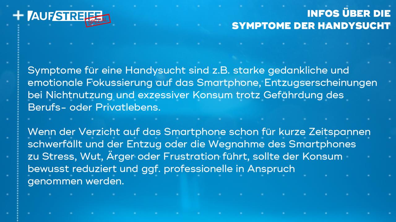 F1448_M2_Infos Symptome Handysucht - Bildquelle: SAT.1