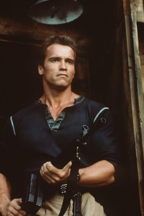 John (Arnold Schwarzenegger) ist es gelungen, aus dem Flugzeug der Terroristen zu entkommen. Doch ihm bleibt nur wenig Zeit, um seine Tochter zu bef... - Bildquelle: 20th Century Fox Film Corporation