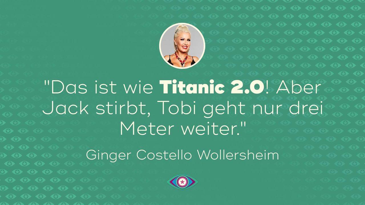 Tag 5: Ginger Titanic