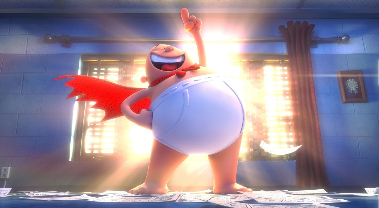 Mr. Krupp alias Captain Underpants - Bildquelle: 2017 DreamWorks Animation, L.L.C.  All rights reserved.