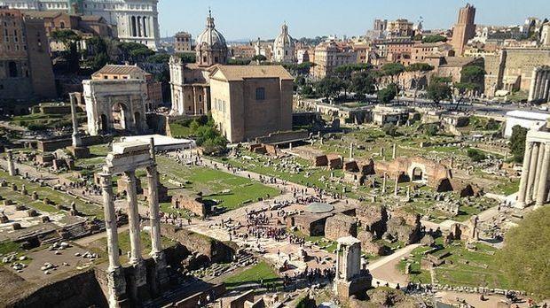 In Rom gibt es viel zu entdecken.