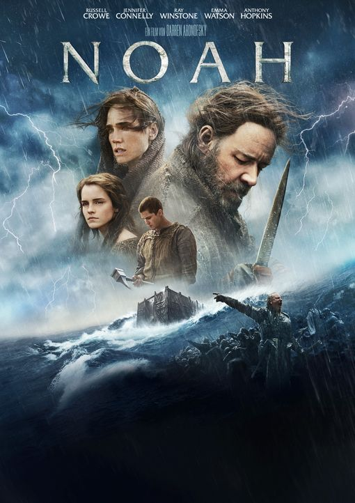NOAH - Plakatmotiv - Bildquelle: 2014 Paramount Pictures Corporation. All rights reserved.