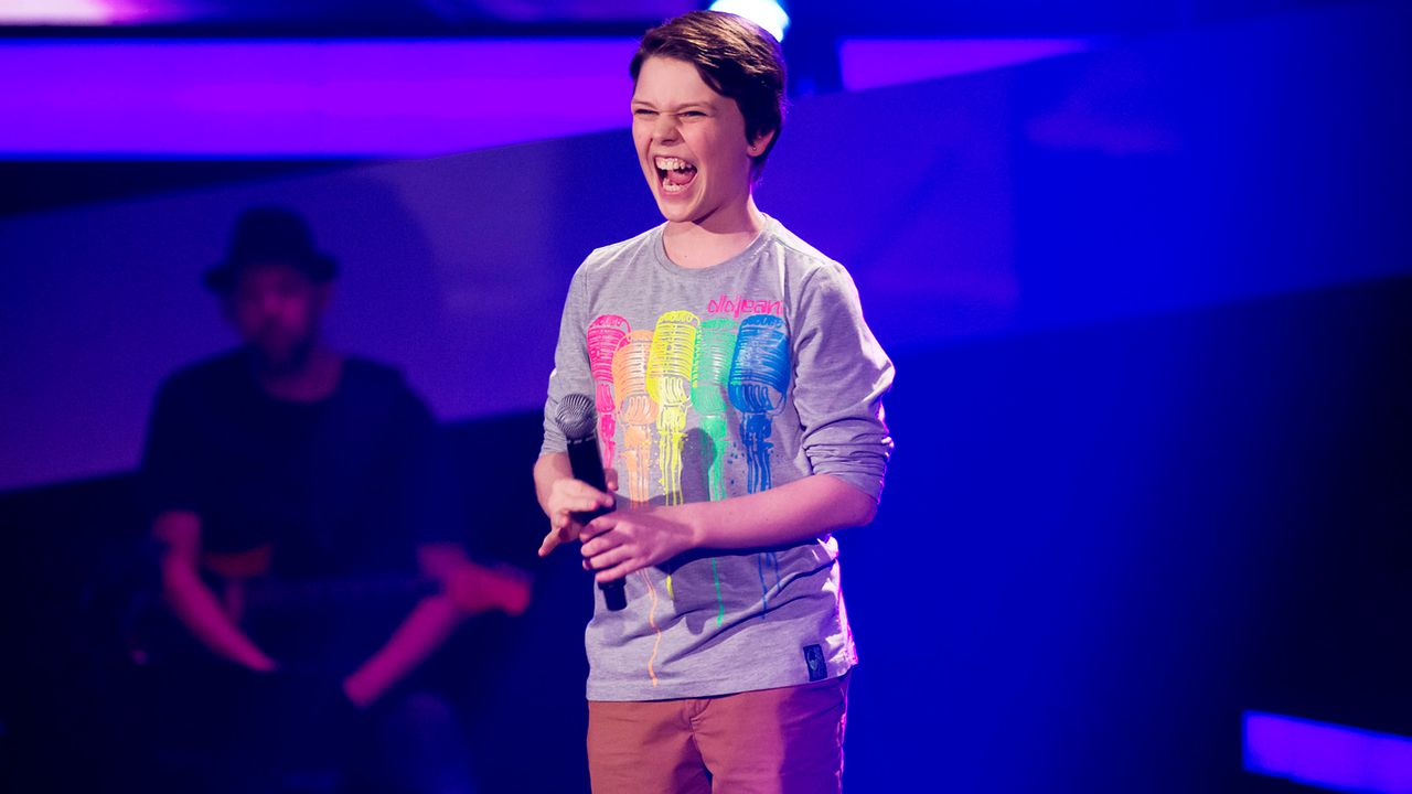 The-Voice-Kids-Nachher-Sean-01-Richard-Huebner - Bildquelle: SAT.1/Richard Hübner