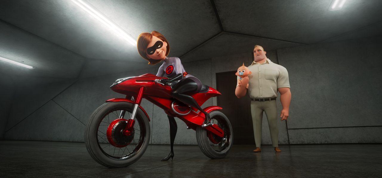 Helen Parr/Elastigirl (l.); Bob Parr/Mr. Incredible (r.) - Bildquelle: 2018 Disney/Pixar. All Rights Reserved.