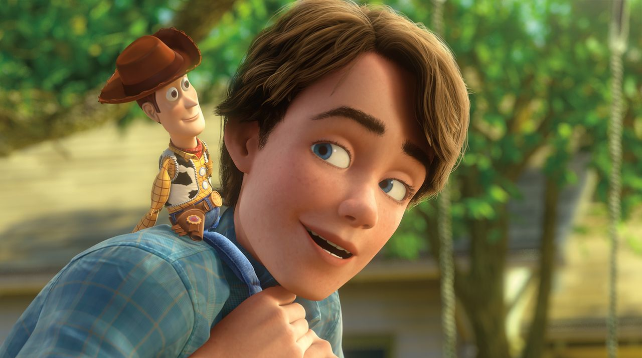 Sheriff Woody (l.); Andy (r.) - Bildquelle: Disney/Pixar