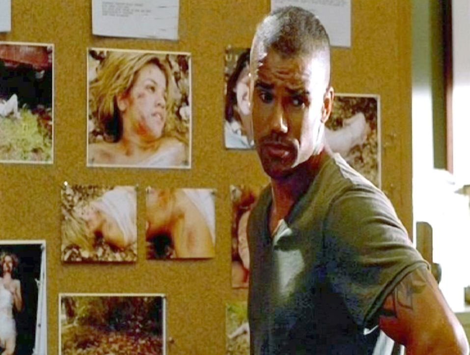 Special Agent Derek Morgan (Shemar Moore) versucht hinter das Geheimnis der Serienkiller zu kommen ... - Bildquelle: Touchstone Television