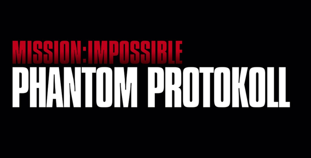 """""""Mission Impossible - Phantom Protokoll"""" -Logo - Bildquelle: 2011 Paramount Pictures.  All Rights Reserved."""