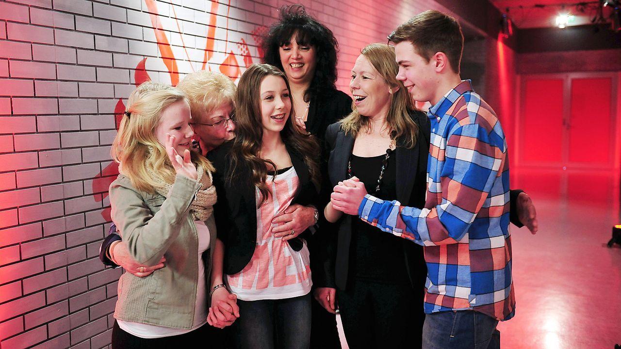 The-Voice-Kids-epi03-danach-Malin-2-SAT1-Andre-Kowalski - Bildquelle: SAT.1/Andre Kowalski