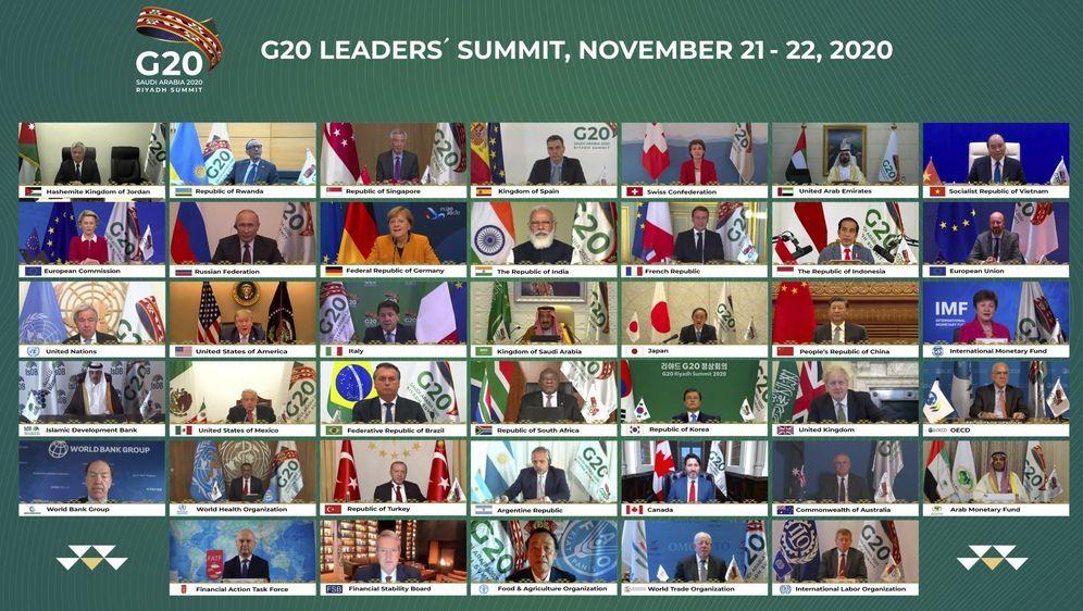 - Bildquelle: -/G20 Riyadh Summit/AP/dpa