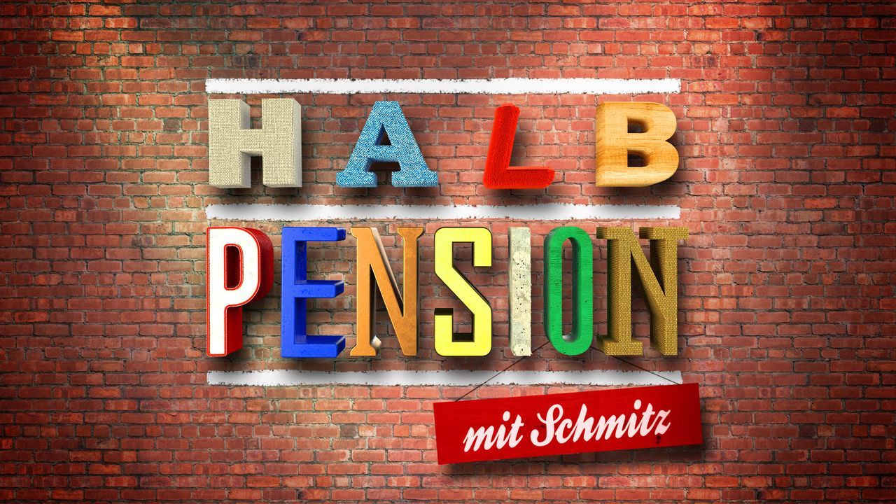 Halbpension mit Schmitz - Logo - Bildquelle: SAT.1