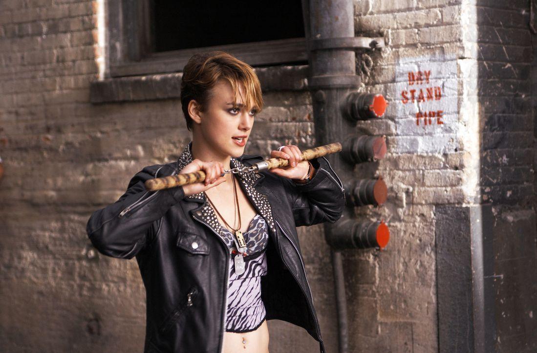 Bisher hat Domino (Keira Knightley) hat ein ganz normales Leben geführt, doch dann schließt sie sich einer Gruppe Kopfgeldjägern an, um ihre Lust na... - Bildquelle: Constantin Film
