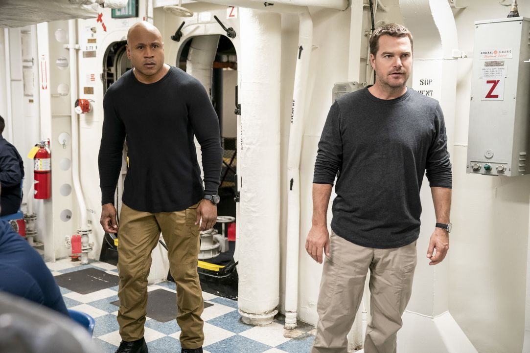 Sam Hanna (LL Cool J, l.); G. Callen (Chris O'Donnell, r.) - Bildquelle: Erik Voake 2019 CBS Broadcasting, Inc. All Rights Reserved / Erik Voake